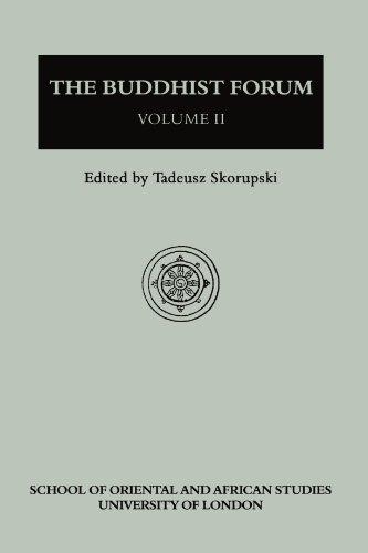The Buddhist Forum, Vol. II: T. Skorupski