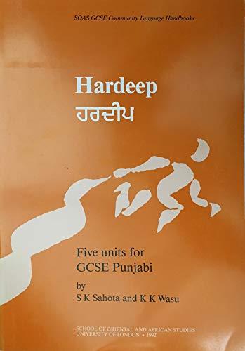 9780728602069: Hardeep: Five Units for GCSE Punjabi (SOAS GCSE Community Language Handbook)