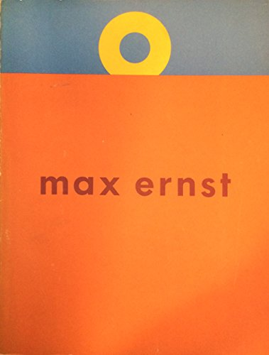 9780728700505: Max Ernst: A retrospective
