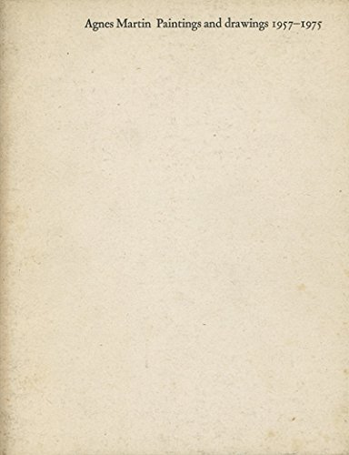 9780728701281: Agnes Martin, paintings and drawings, 1957-1975