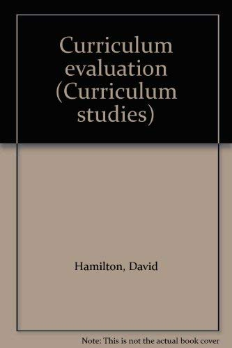 9780729100526: Curriculum Evaluation (Curriculum studies)
