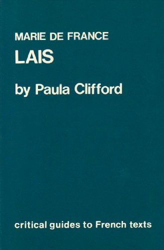 9780729301343: Marie de France: Lais (Critical Guides to French Texts)