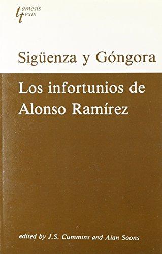 9780729301718: Carlos de Siguenza y Gongora: Los Infortunios de Alonso Ramirez (Grant & Cutler Spanish texts)
