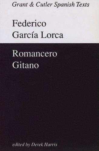9780729303262: Garcia Lorca: Romancero gitano (Grant & Cutler Spanish Texts)
