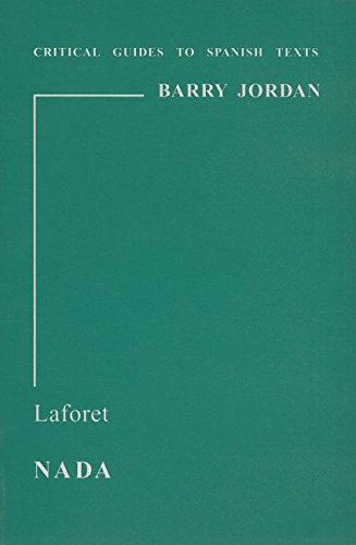 9780729303309: Laforet: Nada (Critical Guides to Spanish Texts)