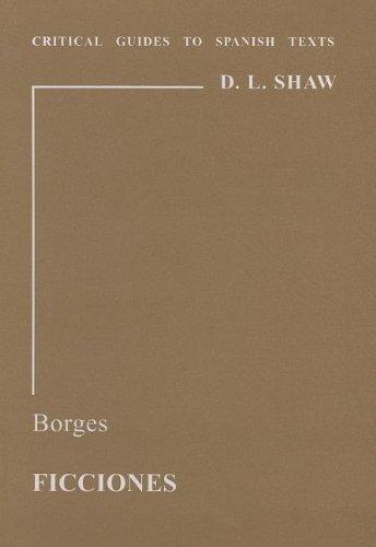 9780729303507: Borges: Ficciones (Critical Guides to Spanish Texts)