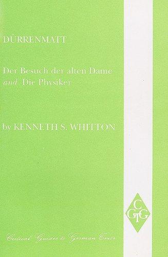 9780729303620: Durrenmatt: Der Besuch der alten Dame und Die Physiker (Critical Guides to German Texts)
