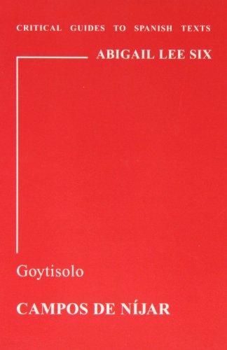 9780729303798: Goytisolo: Campos de Nijar (Critical Guides to Spanish Texts)