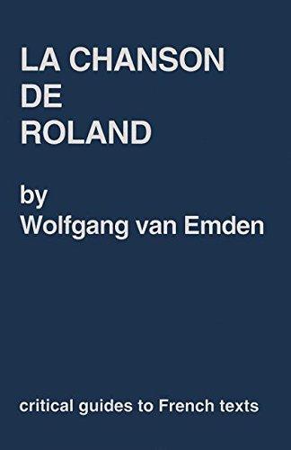 9780729303866: Chanson (La) de Roland (Critical Guides to French Texts)