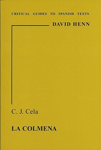 9780729303989: Cela: La Colmena (Critical guides to Spanish texts)