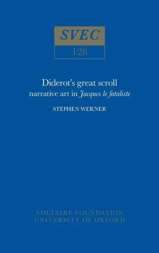 "9780729400305: Diderot's Great Scroll: Narrative Art in ""Jacques le Fataliste"""