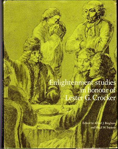 9780729402347: Enlightenment Studies in Honour of Lester G.Crocker