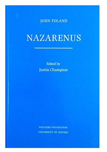 9780729405614: John Toland, Nazarenus (British Deism & Free Thought)