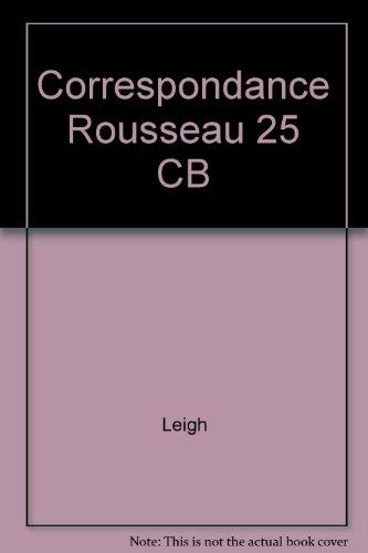 Correspondance Rousseau 25 CB: Leigh