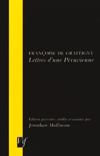 9780729407502: Lettres D'une Peruvienne (VIF) (French Edition)