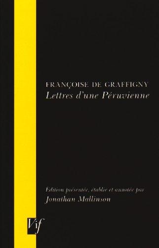 9780729407502: Lettres d'une Péruvienne