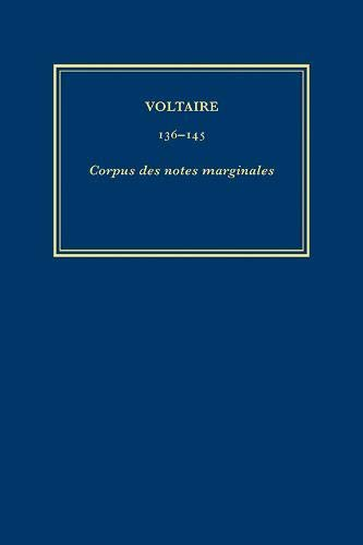 9780729407779: Corpus des Notes Marginales: v. 6 (Oeuvres Completes de Voltaire) (French Edition)