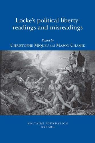 9780729409582: Locke's Political Liberty: Readings and Misreadings (SVEC 2009:04)