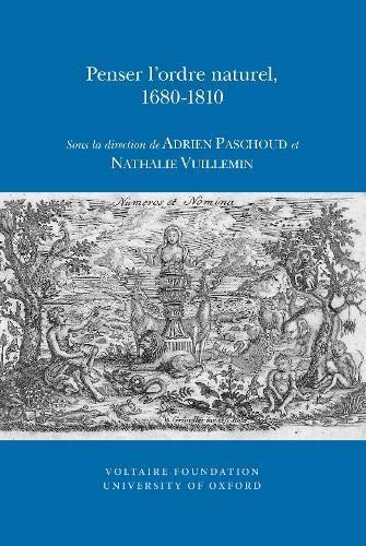 Penser I ordre Naturel, 1680-1810 (Paperback)