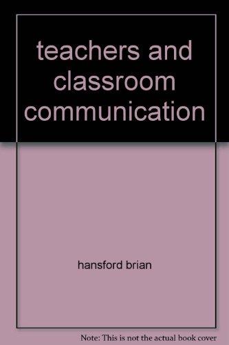 9780729502894: teachers and classroom communication