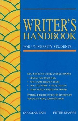 9780729509701: Writer's Handbook for University Students