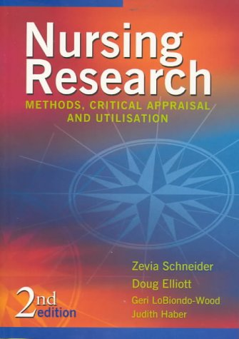 9780729536653: Nursing Research: Methods, Critical Appraisal and Utilisation (Spanish Edition)