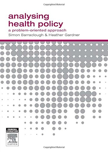 9780729538435: Analysing Health Policy: A Problem-Oriented Approach, 1e