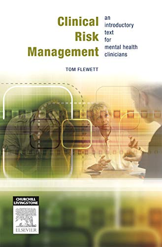 9780729539340: Clinical Risk Management: An introductory text for mental health professionals, 1e
