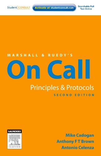 9780729539616: Marshall and Ruedy's On Call: Australian Version