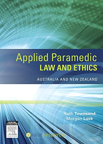 9780729541343: Applied Paramedic Law and Ethics