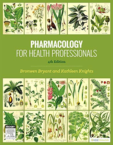 9780729541701: Pharmacology for Health Professionals