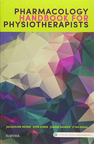 Pharmacology Handbook for Physiotherapists (Paperback): Reznik