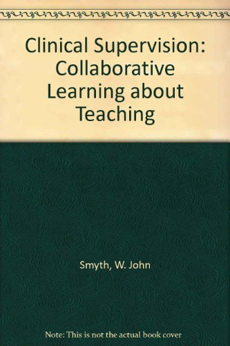 ISBN 9780730001430 product image for Clinical Supervision: Collaborative Learning about Teaching | upcitemdb.com