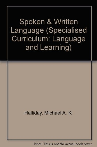 9780730003090: Spoken & Written Language (Specialised Curriculum: Language and Learning)