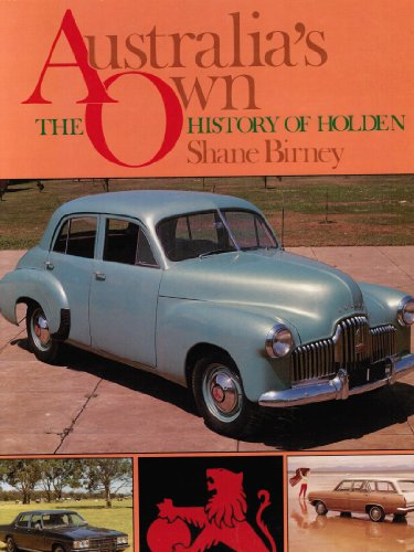 9780730201311: Australia's Own : The History of Holden