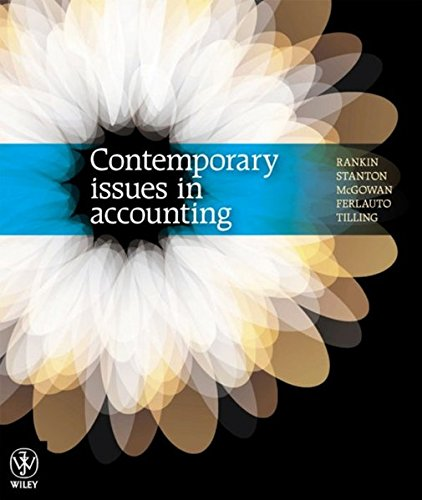 9780730300267: Contemporary Issues in Accounting 1E