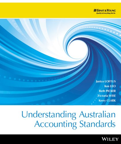 Understanding Australian Accounting Standards - EXPRESS to: Janice Loftus, Ken