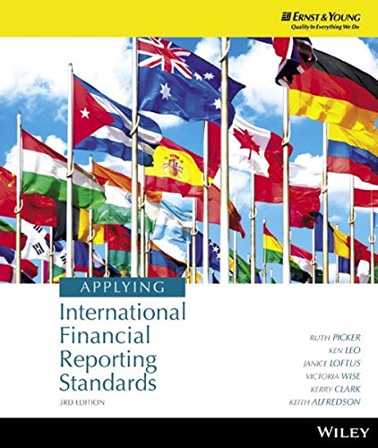 Applying International Financial Reporting Standards: Picker, Ruth; Leo,