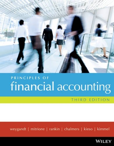Principles of Financial Accounting: Weygandt, Jerry J.