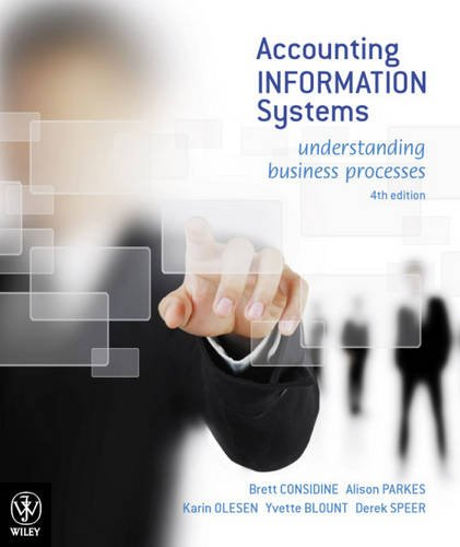 9780730302476: Accounting Information Systems: Understanding Business Processes