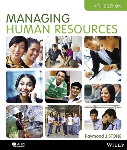 9780730302551: Managing Human Resources