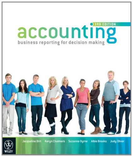 Accounting Business Reporting for Decision Making +: Birt, Jacqueline/ Chalmers,