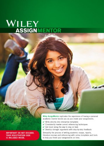 AssignMentor Card - 6 Month Subscription (Paperback): Wiley