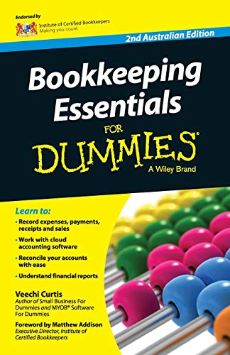 9780730310655: Bookkeeping Essentials For Dummies - Australia