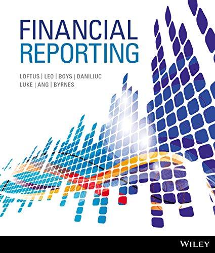 Financial Reporting: Janice Loftus