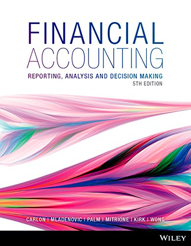 9780730313748: Financial Accounting: Reporting, Analysis and Decision Making