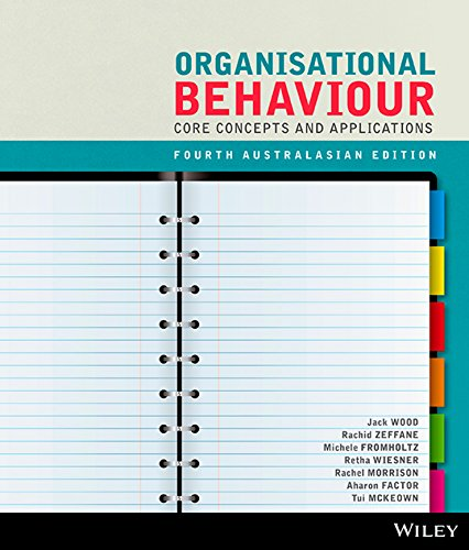 9780730314714: Organisational Behaviour: Core Concepts and Applications