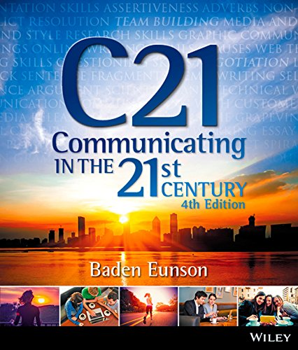 9780730315476: Communicating in the 21st Century 4E