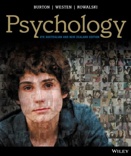Psychology 4th Australian and NZ Edition + iStudy with CyberPsych (Paperback): Lorelle J. Burton