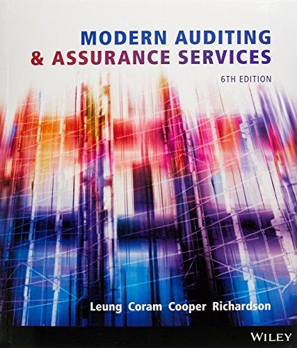 Modern Auditing and Assurance Services + istudy Card: Leung